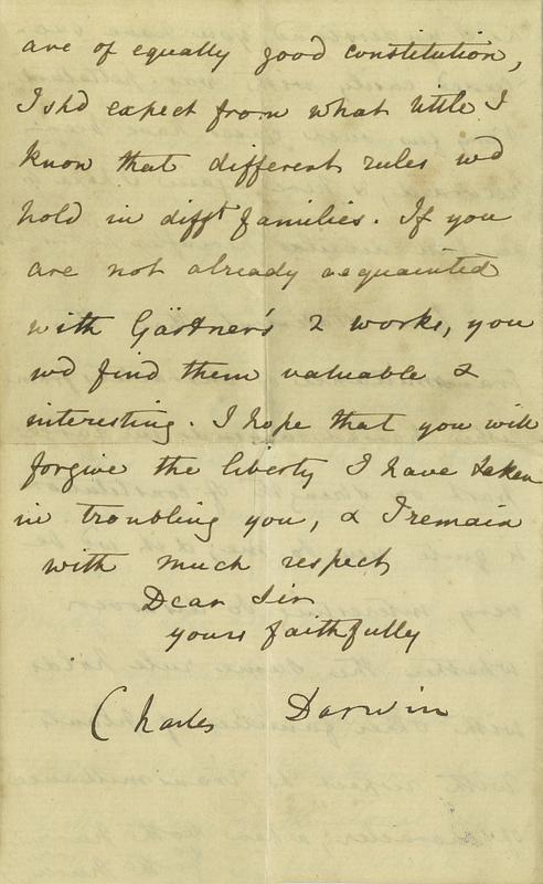 Letter to Dr John Denny