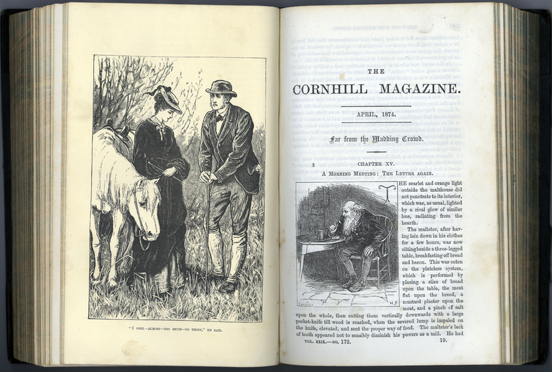 'Far From the Madding Crowd' in The Cornhill Magazine