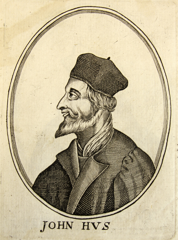 'Jan Hus' from [Herōologia Anglica]