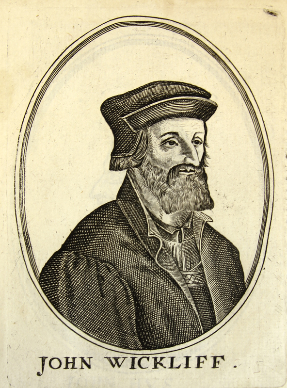 'John Wyclif' from [Herōologia Anglica]
