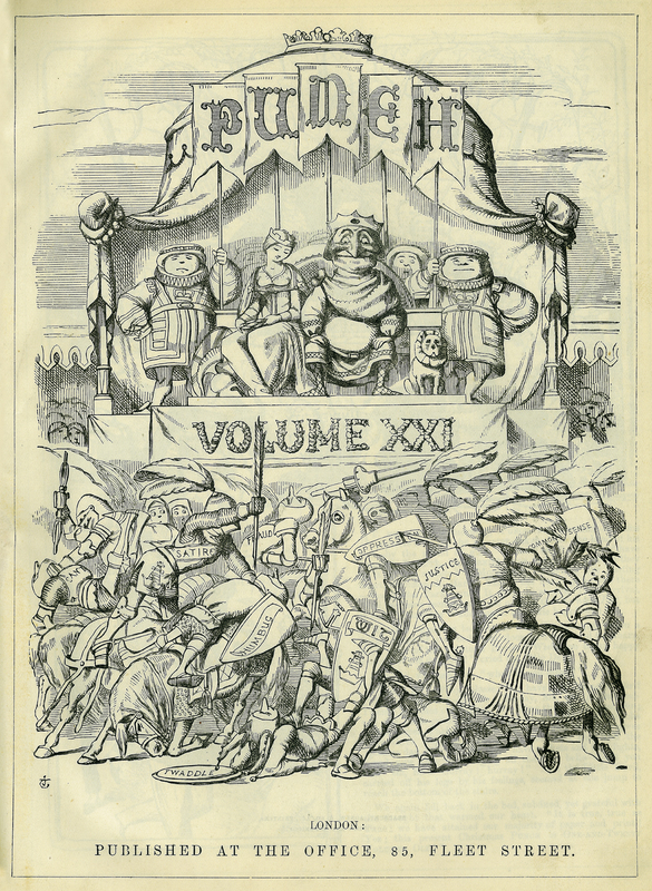 Punch, or the London Charivari, Vol. XXI