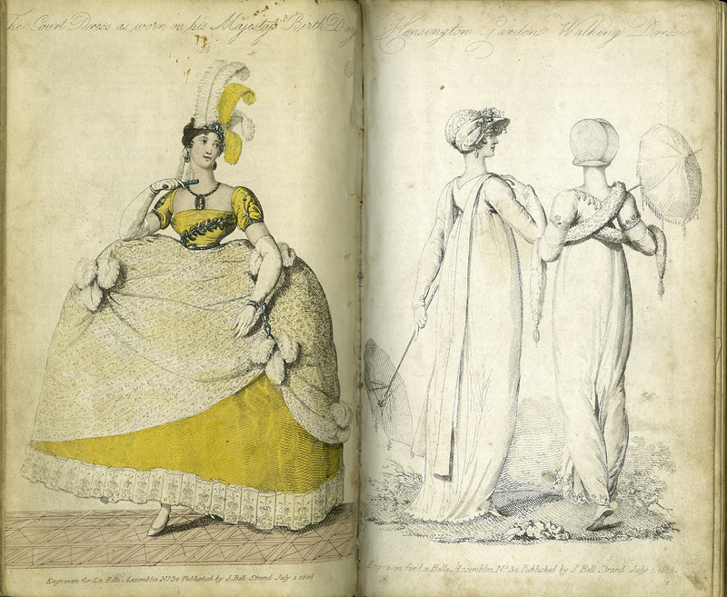La Belle Assemblée; or, Bell's Court and Fashionable Magazine