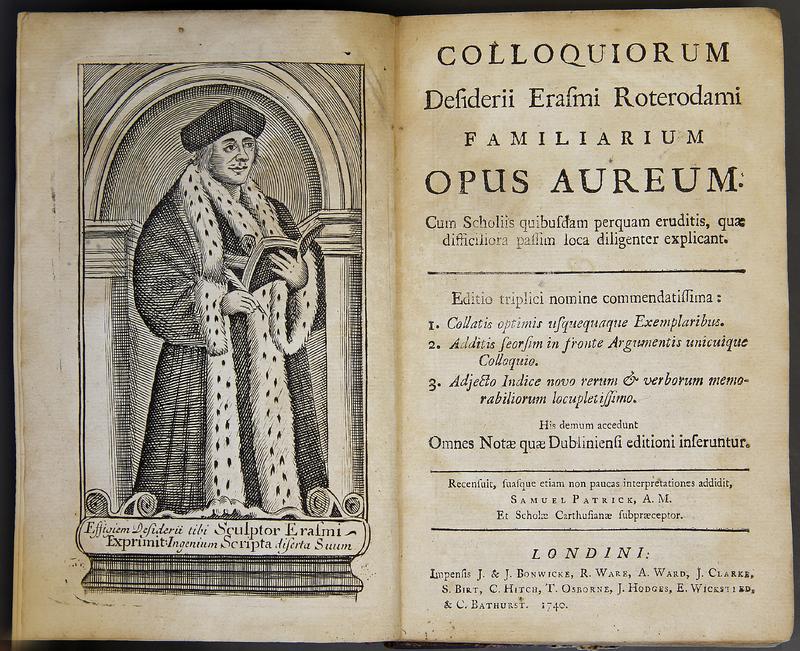 Colloquiorum Desiderii Erasmi Roterodami Familiarum Opus Aureum