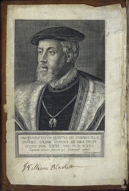 Charles V, Holy Roman Emperor from The Civil Wars of Spain, in the Reign of Charles the Fifth, Emperour of Germanie, and King of that Nation.