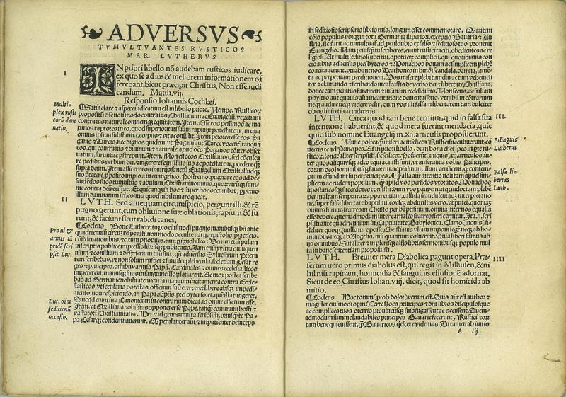 Adversus Latrocinantes et Raptorias Cohortes Rusticorum