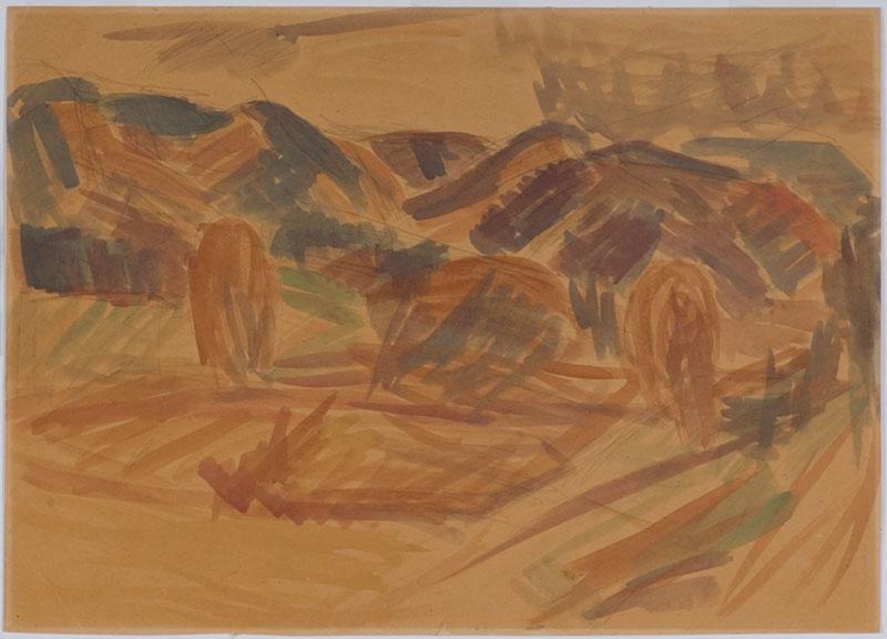 Verso in pencil (Charles Brasch's hand): Tasman ...
