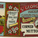 St. George Corned Mutton label