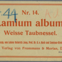 Printer ticket : Lamium album