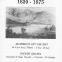 S16-568a   Ephemera - Hocken Exhibition posters.jpg