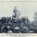 'The Unveiling of Burns Statue Fifty Years Ago'