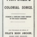 Thatcher's colonial minstrel: A new collection of songs by the inimitable Thatcher.