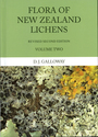 Flora of New Zealand: Lichens: including Lichen-forming and Lichenicolous Fungi, Vol. II