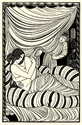 'Approaching Dawn' reproduced from Eric Gill, The Engravings edited by Christopher Skelton