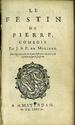 'Le Festin de Pierre' in Les oeuvres ...