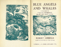 Blue Angels and Whales: A Record of Personal Experiences Below and Above Water