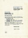 Letter to Gerry de la Ree