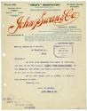 John Swan and Company letterhead