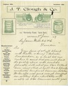 J.T. Clough and Company letterhead