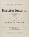 Heroes of the Dardanelles: song