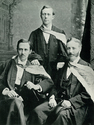 Graduation, 1886 (photograph) from Truby King The Man