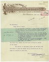 Stevenson and Cook Engineering Company Limited letterhead
