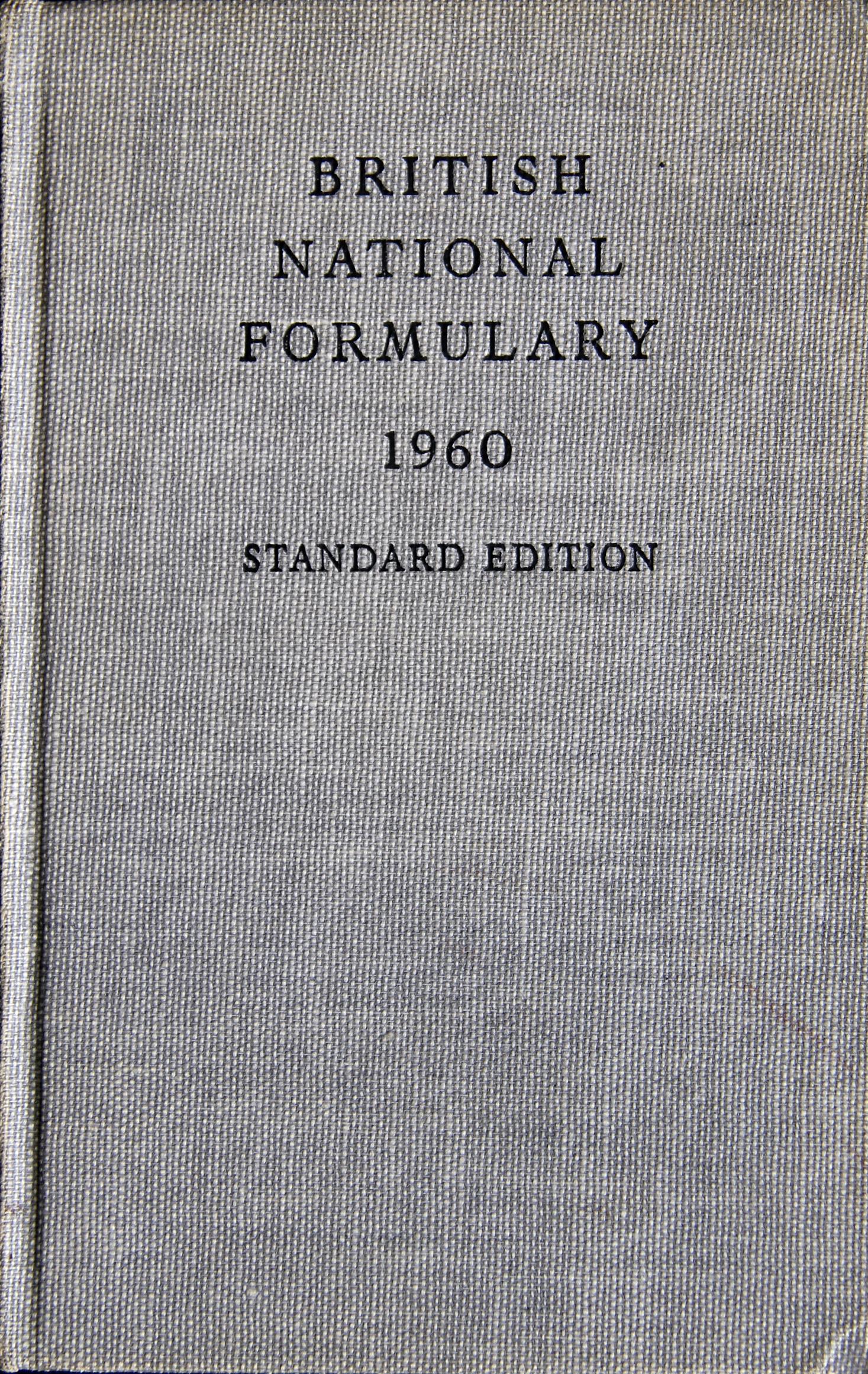 British National Formulary Books