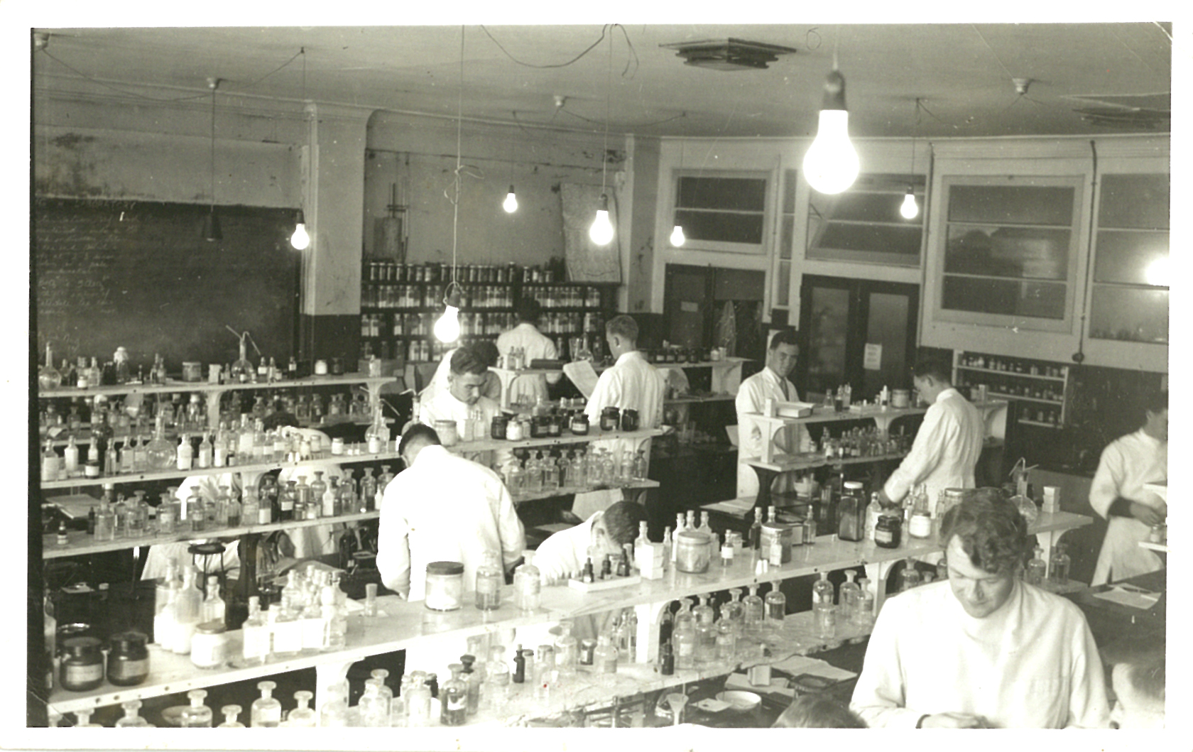 Inside a teaching laboratory at the college of pharmacy at for 50 the terrace wellington