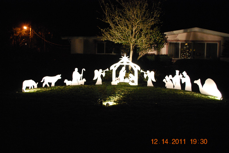 Outdoor Nativity Set