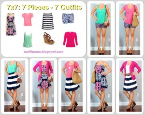 7×7: 7 Pieces – 7 Outfits