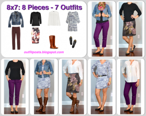 outfit post: fall 8×7 – 8 pieces – 7 outfits