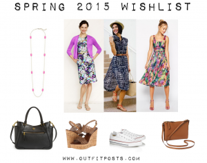 outfit post: spring 2015 shopping wishlist