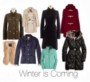 Guest Post – Winter is Coming: Building an outerwear wardrobe