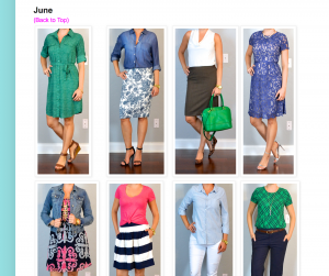 outfit archive update – may, june & july!