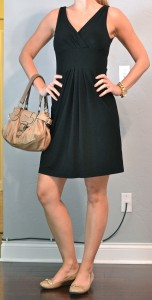 outfit posts: little blackdress, nude flats
