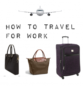 outfit posts: reader request – how to travel for business