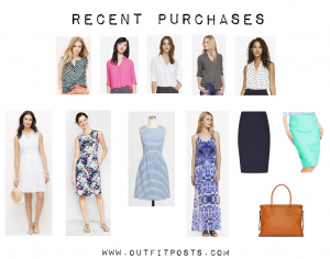 outfit post: recent shopping purchases – june