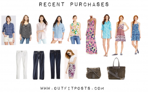 outfit posts: postpartum purchases