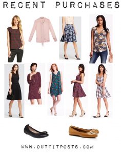 outfit posts: recent shopping purchases – september/october