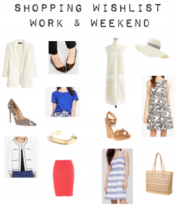outfit post: july shopping wishlist – work & weekend wants