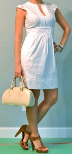 outfit post: little white dress
