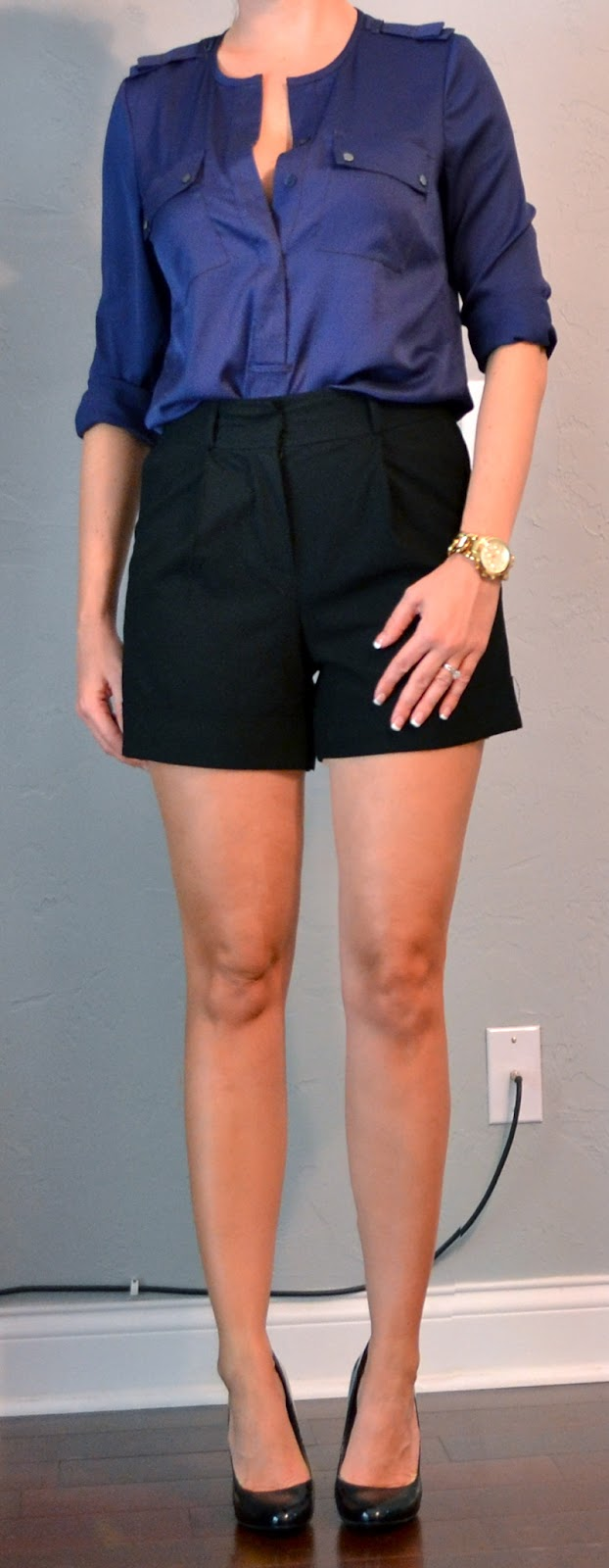 dress - High black waisted shorts club outfit video