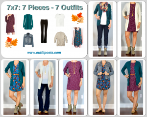 outfit post: fall 7×7 (7 pieces = 7 outfits)