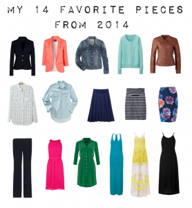 outfit posts – 14 favorites pieces from 2014