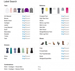 outfit post: new fun page – labels search!