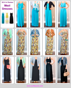 2014 in review – outfit posts: maxi dresses – 14 ways