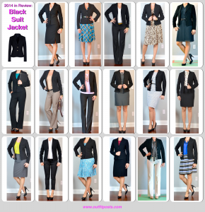 2014 in review – outfit posts: black suit jacket – 17 ways