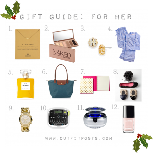 outfit posts: gift guide – for her