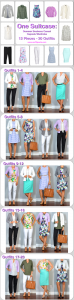one suitcase: summer business casual capsule wardrobe