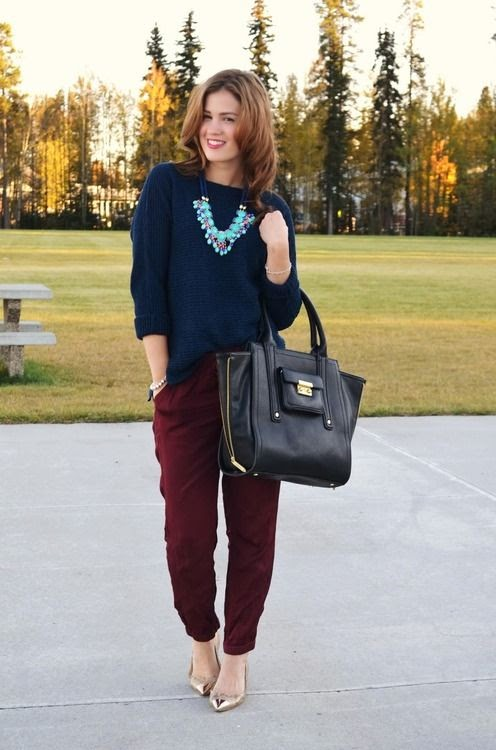 Creative Maroon Pants Outfit On Pinterest  Burgundy Jeans Outfit Pants Outfit