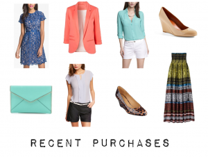 outfit post: recent shopping purchases – april & may